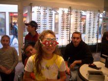 Besuch beim Optiker, Thema 5 Sinne