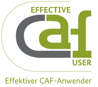 "Logo ""Effective CAF User"""