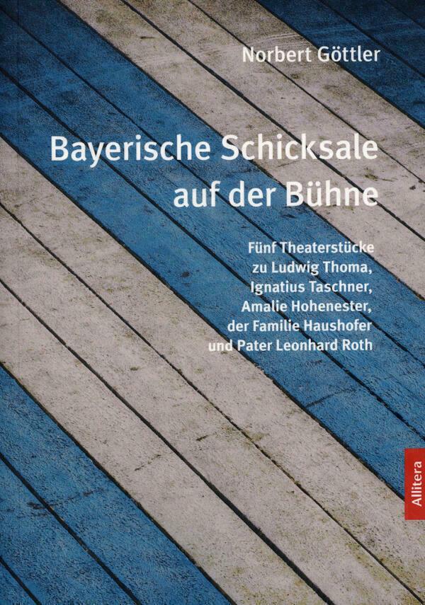 Titelseite des Buchs mit Titel, Beschreibung und weiß-blauen Bodenplanken im Hintergrund.