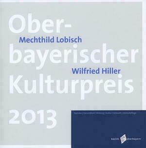 Titelseite der Broschüre mit dem Namen der Veranstaltung, den Namen der Geehrten und dem Logo des Bezirks Oberbayern