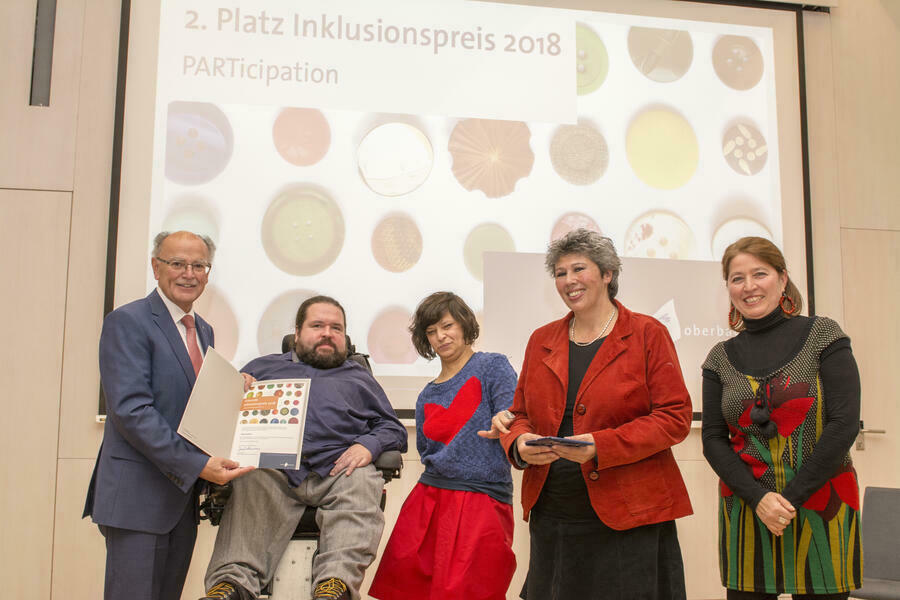2-PARTicipation 2. Inklusionspreis 2018