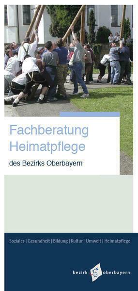 Fachberatung Heimatpflege: Imagefaltblatt - Cover