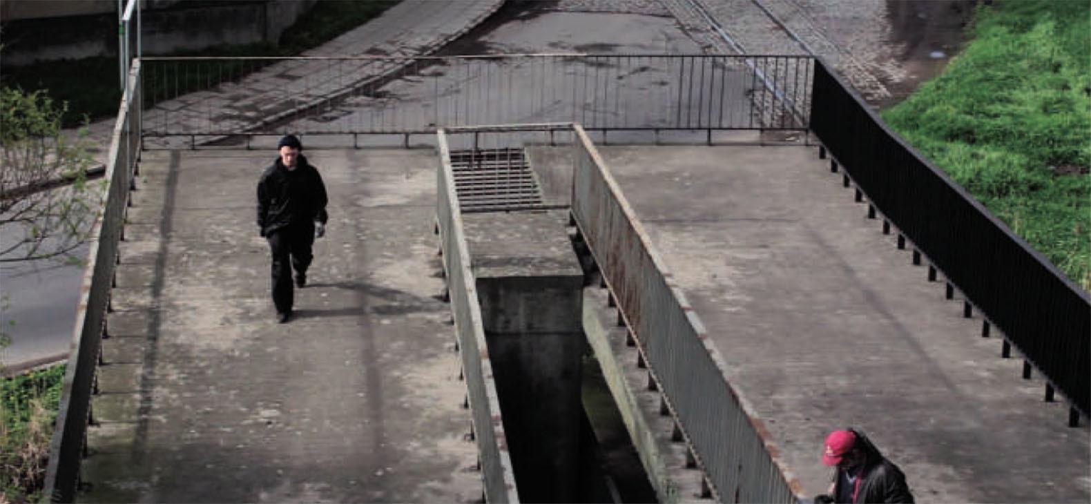 Artur Rozen: Black Flag, video, 2014